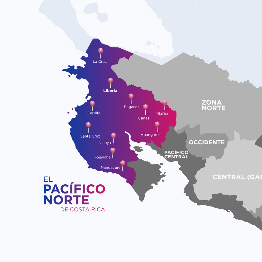 Pacífico Norte de Costa Rica
