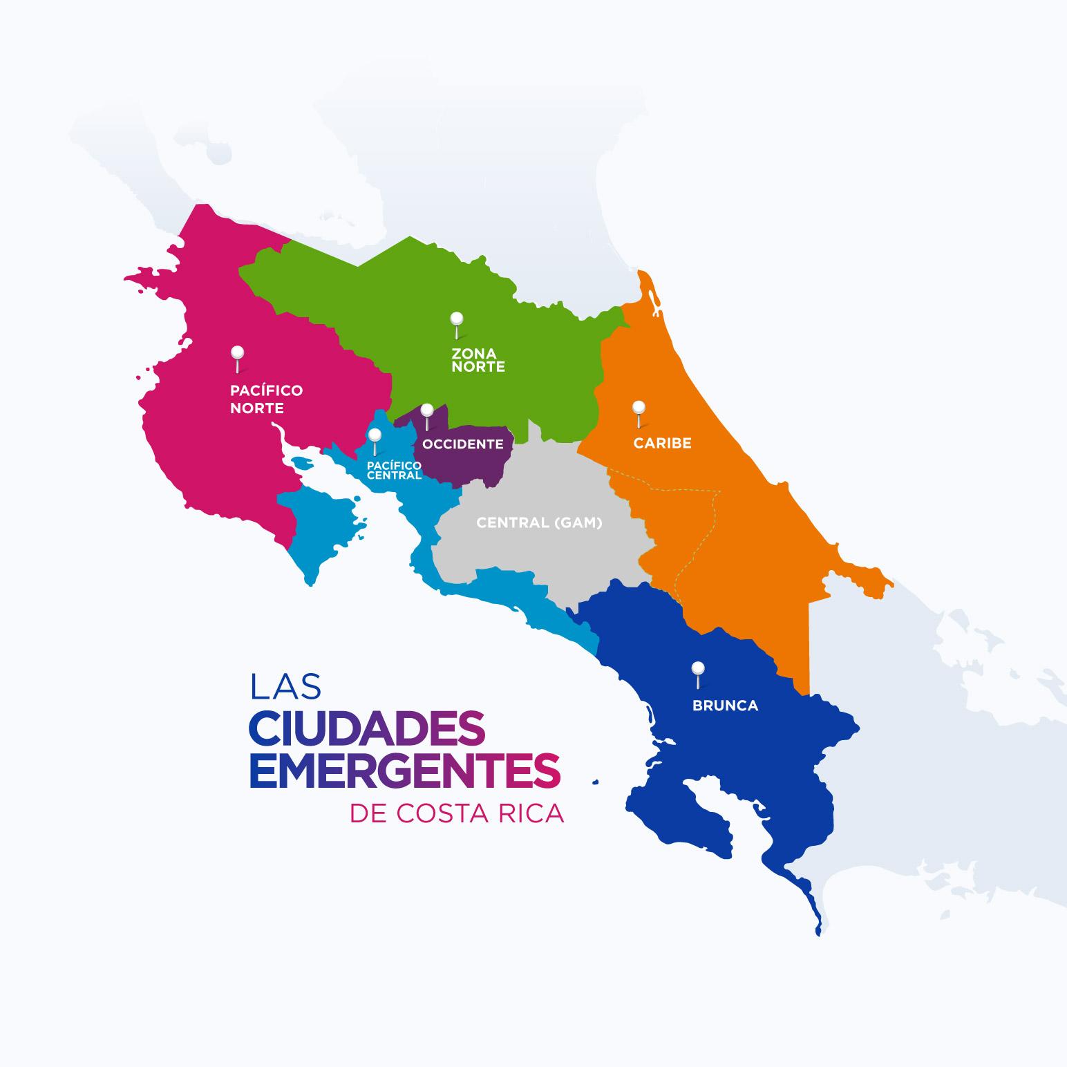 Ciudades Emergentes de Costa Rica